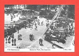 Fire Spectacular Memorial Park Basingstoke Modern Postcard 1987 PH Topics No.24