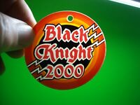Black Knight 2000 Pinball Key Chain Plastic Promo Original Game Logo Nice Gift