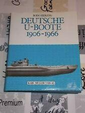 Deutsche U-Boote 1906 - 1966 , Bodo Herzog , Ausg.1996