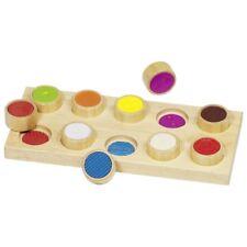 Oberflächen-Fühl-Memo aus Holz Memory Kindermemory Holzspielzeug NEU!