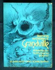 Bizarreries and fantasies of Grandville. Stanley Appelbaum. Dover 1974.