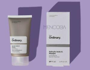 The Ordinary SALICYLIC ACID 2% MASQUE Gesichtsmaske 50ml ORIGINAL by MENCOBA