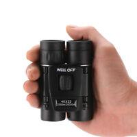 Portable Binoculars 40 x 22 Zoom Outdoor Travel Hiking Folding Telescope Sweet