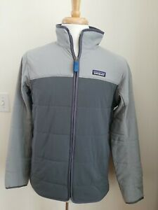 Patagonia Men's Large Pack In Jacket.  Forge Grey.