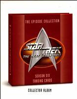 Star Trek TNG Next Generation Trading Card Album Season 6 Dealer Sell Sheet Sale