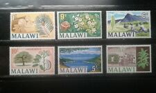 Malawi #45-50 mint hinged short set trees fruit e196.4505