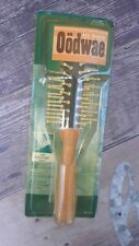 Vintage 1996 Goody Oodwae All Wood Cushioned Styler Brush Cushioned Curl Brush