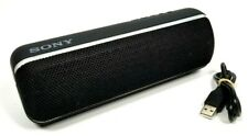 Sony Extra Bass Portable Wireless Speaker Black SRS-XB22 and Charger Cable