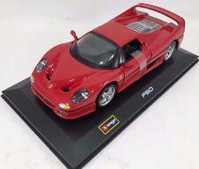 Bburago - 18-46100 - Ferrari F50 Race & Play Scale 1:32 – Red