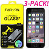 Premium Screen Protector Real Tempered Glass Film for iPhone 7 8 Plus X 6 6s FJH