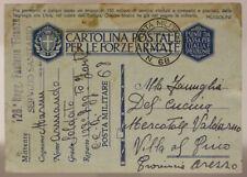 POSTA MILITARE n° 68 (MARCHESE P.1) 128° FANTERIA EX YUGOSLAVIA 19.9.1942 #XP41