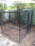 Extra Large Heavy Duty Dog Cage Outdoor Pet Kennel w/ Cover local pick up
