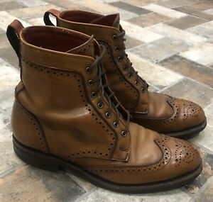 Allen Edmonds Dalton boot, size 7E, walnut color, Dainite rubber sole