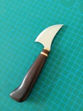 Crazy cut leather tools small radius pattern cutting knife with rosewood handle