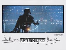 Dave Prowse Hand Signed 8x10 Photo Autograph, Star Wars Darth Vader