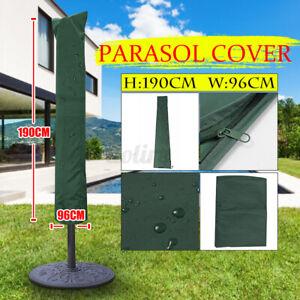 Parasol Outdoor Patio Garden Umbrella Cover Shield Sun Shade Protect Waterproof