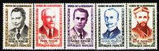 France 1960 Sc959-63Mi1296-300 5v mnh Heroes of the French Underground in WWII