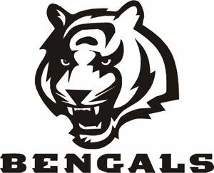 "Cincinnati Bangels NFL Decal ""Sticker"" for Car or Truck or Laptop"