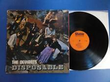 THE DEVIANTS  DISPOSABLE Stable 68 UK 1st pr LP VG+
