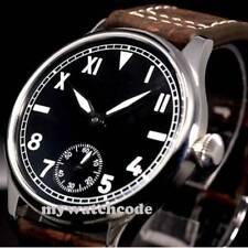 44mm parnis black dial California Dial luminous 6498 Classic Style mens Watch