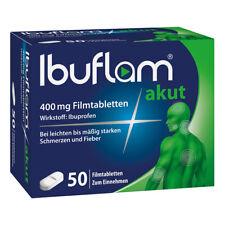 Ibuflam Akut 400 mg Ibuprofen Schmerztabletten 50stk PZN 11648419