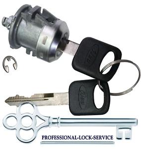 F150 Pickup 1997-2014 SINGLE Door Lock Key Cylinder Tumbler Barrel 2 Keys