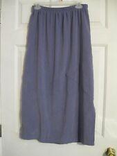 skirt purple southern lady mid-calf waist 28