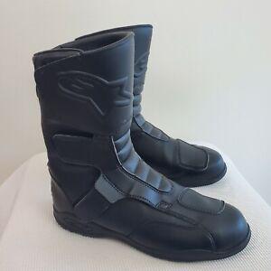 Alpinestars Roam Motorcycle Waterproof Tour Boots Black Size 9.5 US / 44 EU