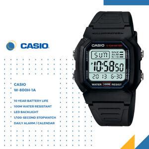 Casio W-800H-1A GENUINE Men's Digital Classic Sport Watch Dive Swim FREE SHIP AU