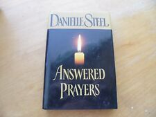 4 Danielle Steel Novels-Rushing Waters, The Wedding,Winners, and Answered Prayer
