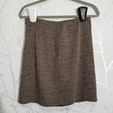Tahari Women's Leopard Print Short Pencil Skirt | Size 6