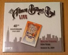 THE ALLMAN BROTHERS BAND Live Beacon Theatre March 16, 2009 3CD SUSAN TEDESCHI