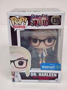 Funko Pop!Dr Harleen Quinzel Harley Quinn Suicide Squad Heroes #135 Vinyl Figur