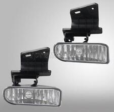 Clear Len Bumper Fog Light Lamp For Chevy Silverado 99-02 Suburban/Tahoe 00-06