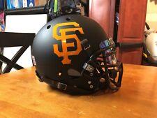 100% Custom Schutt Air Xp San Francisco Giants Football Helmet.