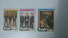 The Jam Monty punk the new wave vintage SMALL MINI cards set