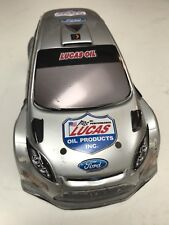 HPI Micro RS4 Painted Body Ford Focus Lucas Oil 1/24 Drift Mini 140mm Silver