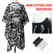 Pro Salon Barber Brown Hair Cutting Cape Hairdressing Hairdresser Cloth Apron