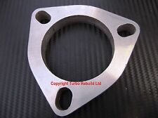 """3"""" 3 Bolt Exhaust Downpipe Stainless Steel Universal Custom Flange 74mm Decat"""