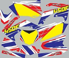 Graphic Kit for 2009-2012 Honda CRF 450 CRF450 shrouds fender plastic decals