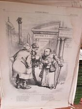 Vintage Print,SHYLOCK,Harpers,Nast,1872, #2