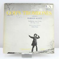 God's Trombones Harold Scott James Weldon Johnson Vinyl Record LP VG+ UAS 5039