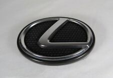 02-05 LEXUS IS300 GRILLE EMBLEM GENUINE OEM GRILL CHROME BADGE sign symbol logo