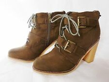 River Island High (3-4.5 in.) Faux Suede Boots for Women
