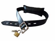 Soft black lockable BIT GAG,  GT-13-BLA, FREE UK DELIVERY