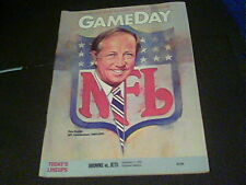 Game Day Browns vs. Jets Sept 17, 1989 Pete Rozelle, Bernie Kosar s23