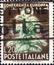 """ITALIA REP. - 1950 - Conferenza Europea del Tabacco - """"Kentucky Italia"""" - 20 L."""