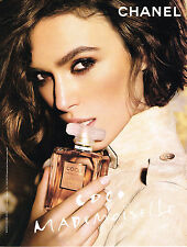 PUBLICITE ADVERTISING  2011   CHANEL   boutique parfums  COCO MADEMOISELLE