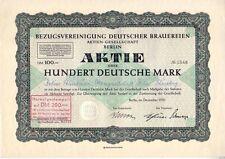 Asociación de referencia alemán cerveceras 100dm Berlin 1951