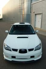 SUBARU Hawkeye Impreza STi V-Lip Splitter Lip Spoiler 2006 - 2007. HT Autos UK.